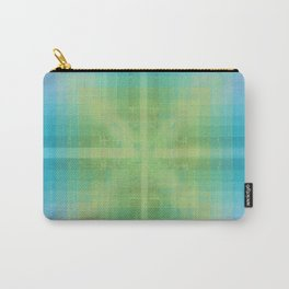 Aquamarine and Peridot Carry-All Pouch