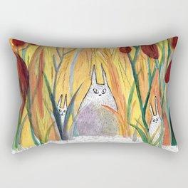 bunnies Rectangular Pillow