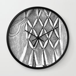 smocking Wall Clock