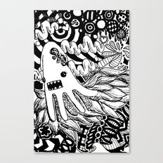 squid, redefined Canvas Print