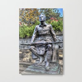 Scots American Memorial Edinburgh Metal Print