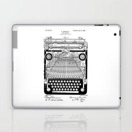 patent art Granville Type Writer 1900 Laptop & iPad Skin