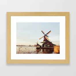 Windmill Netherland Framed Art Print