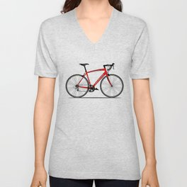 Specialized Racing Road Bike BicycleRoad Cycling Unisex V-Neck