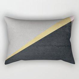 Modern Abstract Rectangular Pillow