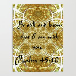 A Psalm of Hope and Faith Poster