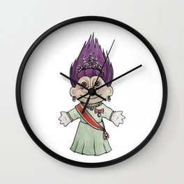 Dronningtroll Wall Clock