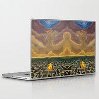 justice Laptop & iPad Skins featuring Justice Game by gunberk