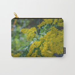 A Bee on Goldenrod Carry-All Pouch