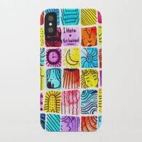 school iPhone & iPod Cases featuring School by Verismaya