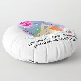 Cancer zodiac Floor Pillow