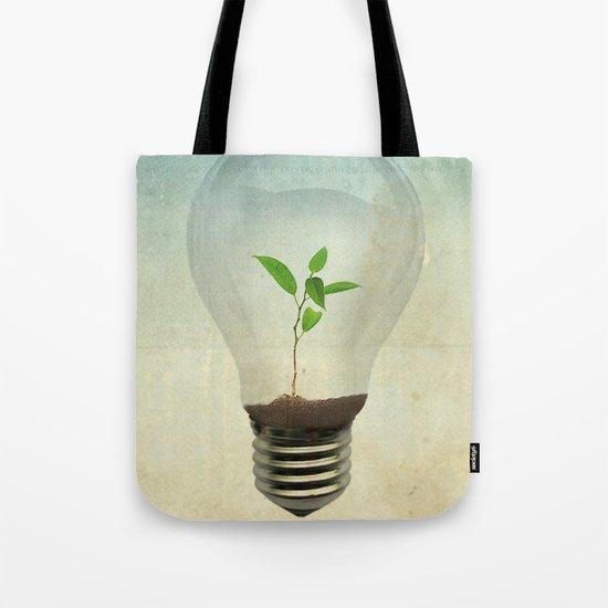 green ideas Tote Bag