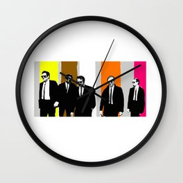 reservoir dogs Wall Clock