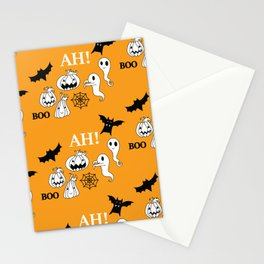 Pattern Halloween 1 Stationery Cards