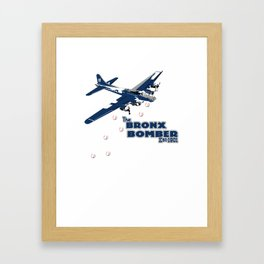 Bronx bombers Framed Art Print