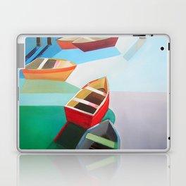 Five Boats Laptop & iPad Skin