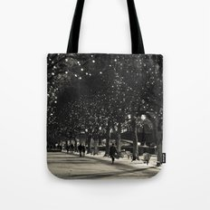 Night and lights Tote Bag