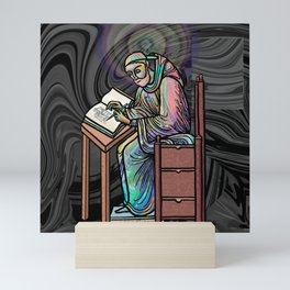 The Scribe Mini Art Print