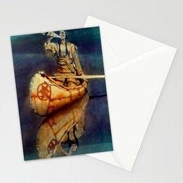 "N C Wyeth Vintage Western Painting ""Indian Trumpet"" Stationery Cards"
