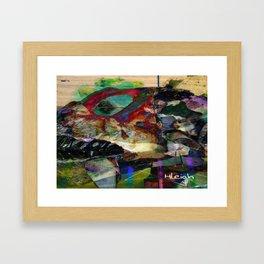 """Coelacanth"" Framed Art Print"