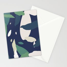 Pattern Abstrait Formes Colors Tropical Stationery Cards