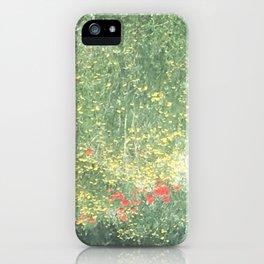 Meadows of Dreams iPhone Case