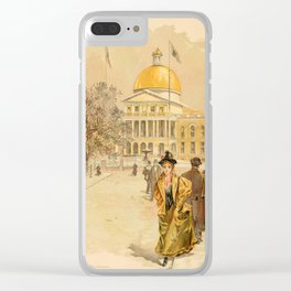 Graham, Charles (1852-1911) - Boston Rubber Shoe Catalogue 1896 - State House Boston Clear iPhone Case