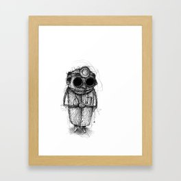 Dr. Death Framed Art Print