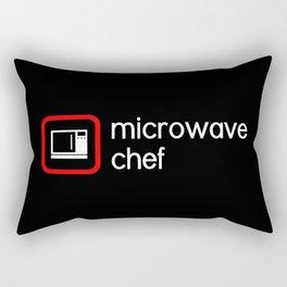 Microwave Chef Rectangular Pillow