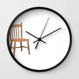 Jewish Wedding Celebration Time Wedding Chair Wall Clock