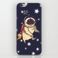 interstellar iPhone & iPod Skins featuring Interstellar by Lixxie Berry Illustration