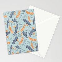 Logs Stationery Cards