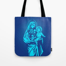mary mother of god  Tote Bag