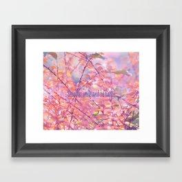 Forest Delight Framed Art Print