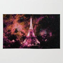 Paris Dreams Fuchsia Pink Peach Rug