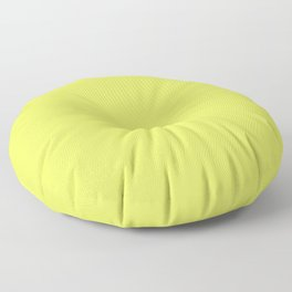Florescent Yellow Floor Pillow