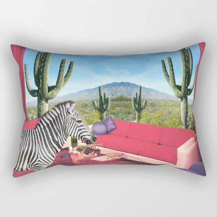 Saguaro Stripes Rectangular Pillow