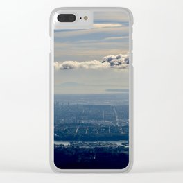 Silver Linings over Vancouver Clear iPhone Case