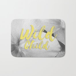 Wild Child - Banana Yellow Bath Mat