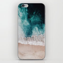 Ocean (Drone Photography) iPhone Skin
