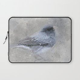Dark Eyed Junco Bird Laptop Sleeve