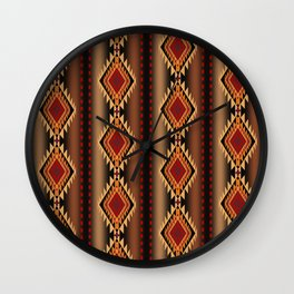 southwest stripe Wall Clock