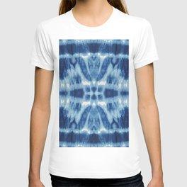 Tie Dye Blues Twos T-shirt