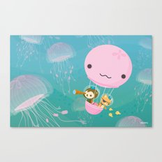 The Octonauts Jellyfish Balloon Canvas Print