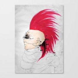 Fierce Angel Canvas Print