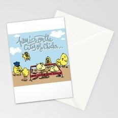 crime Stationery Cards