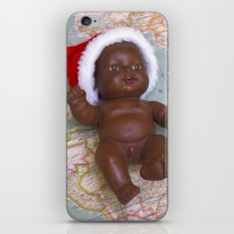 Christmas baby iPhone Skin