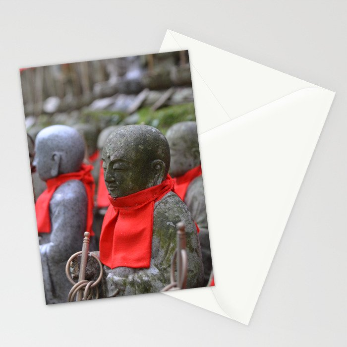 Little Japanese Jizo Stationery Cards