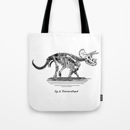 Figure Two: Triceratops Tote Bag