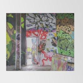 Graffiti Art Throw Blanket
